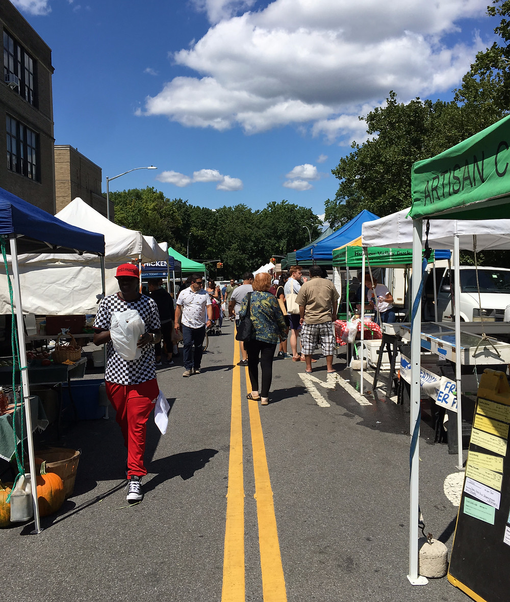 The Inwood Park Greenmarket is open year-round.