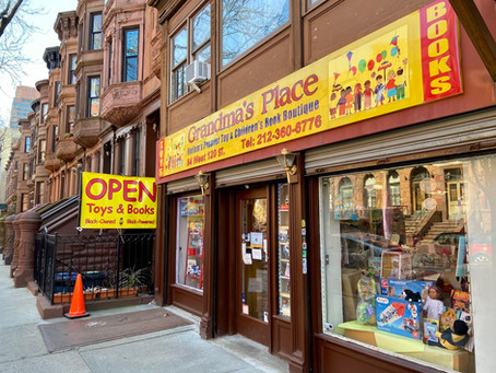 Uptown links: a campaign for beloved Harlem toy and bookstore Grandma's Place raises $46K, and more