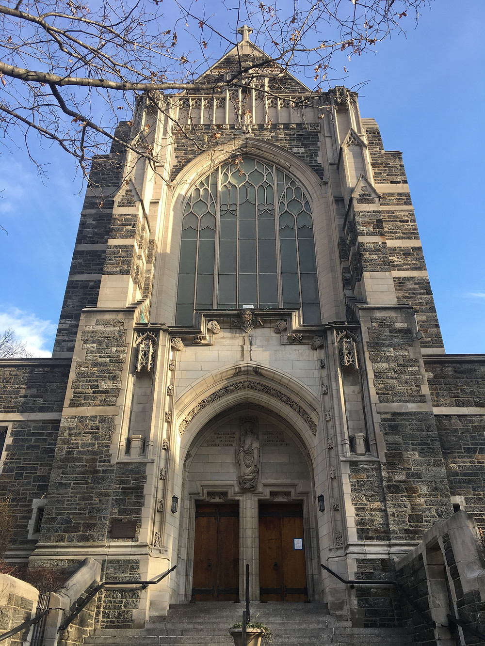 The Church of the Intercession in Harlem