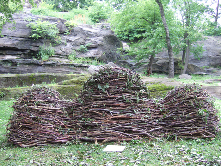"Maren Hassinger's ""Monuments"" take shape in Marcus Garvey Park"