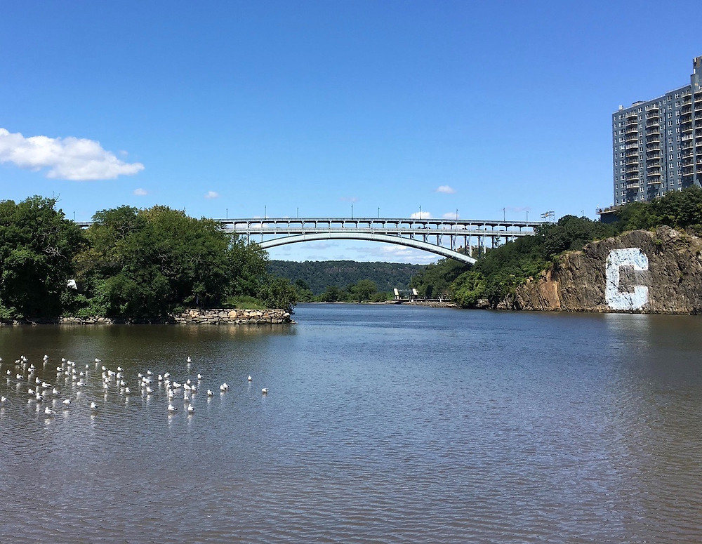 This view of the Henry Hudson Bridge is practically synonymous with Inwood.