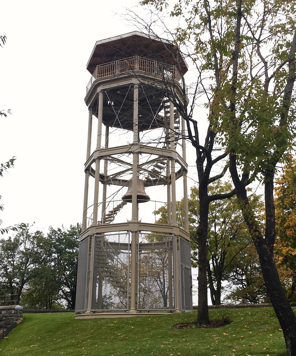 Harlem Fire Watchtower in Marcus Garvey Park