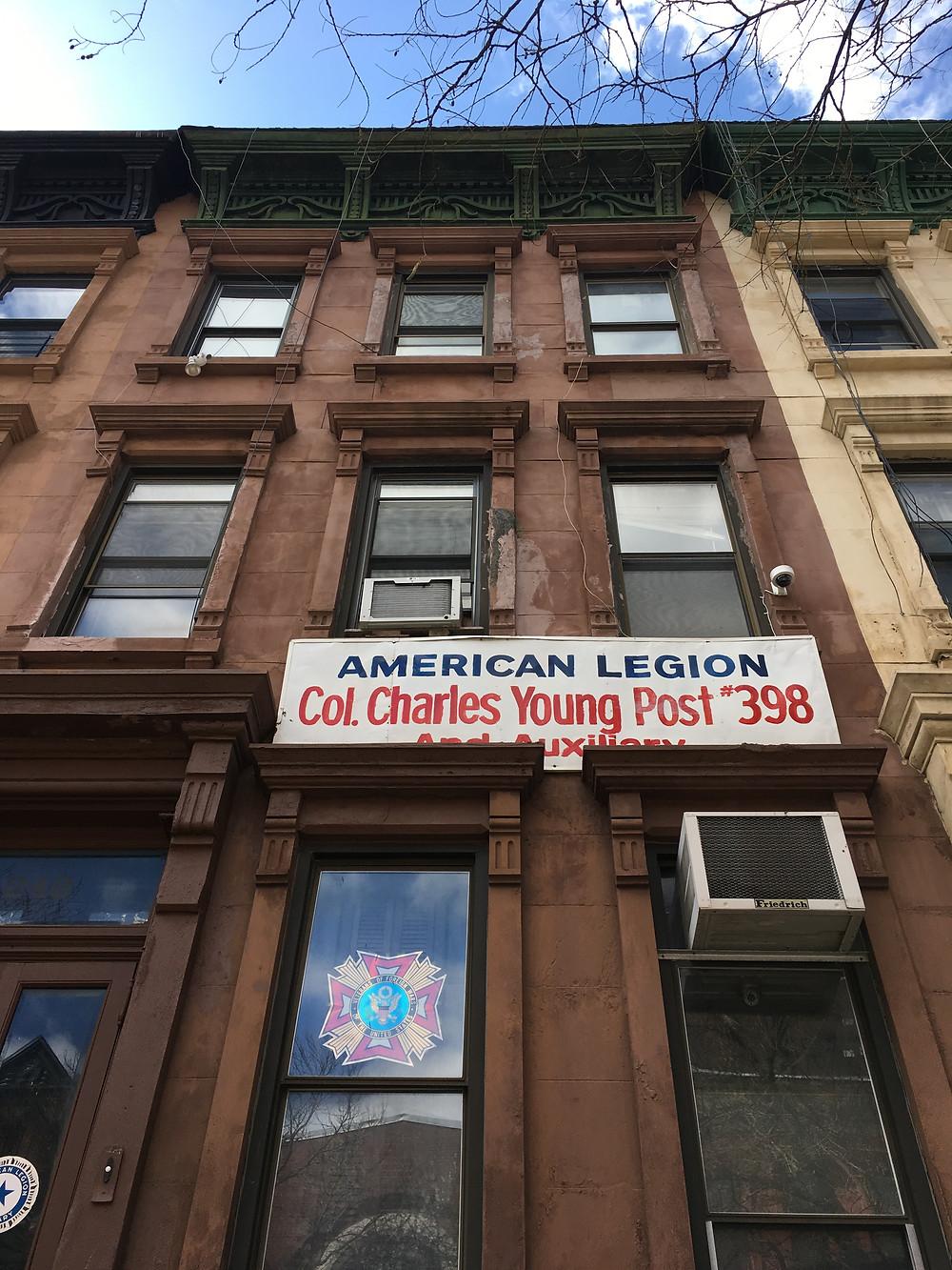 American Legion Post 398 in Harlem
