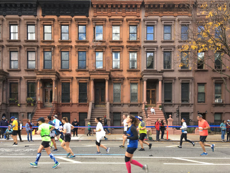Photos: a near-perfect marathon day in Harlem