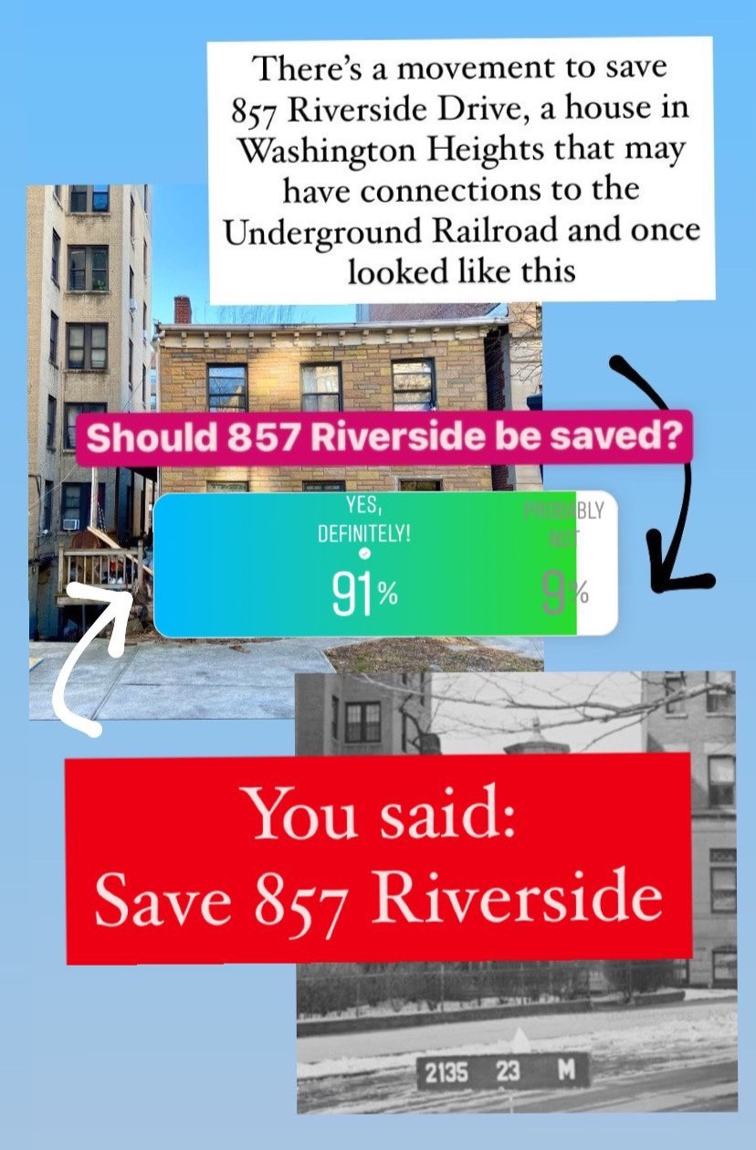 You said: Save 857 Riverside, an uptown house with Underground Railroad ties