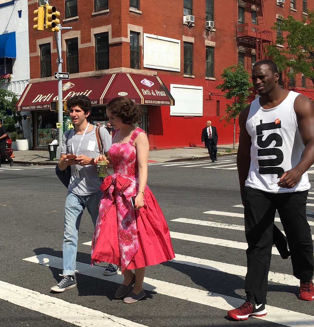 Season 3 of The Marvelous Mrs. Maisel is filming in Harlem