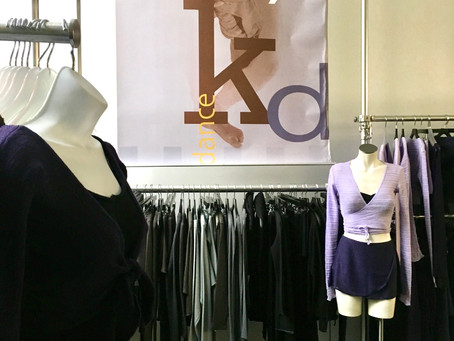 Step inside the new KD New York, a downtown dancewear boutique that just moved uptown