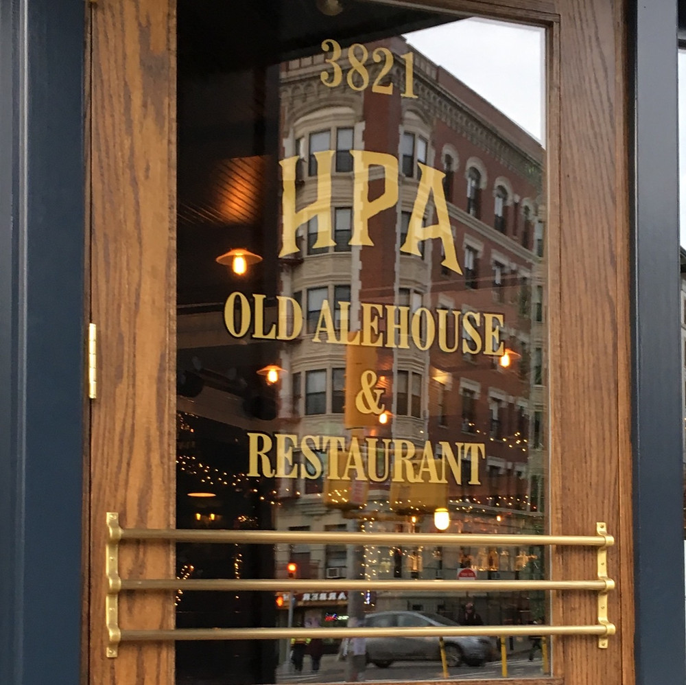 Hilltop Park Alehouse was named after the famous baseball park that stood in Washington Heights and was once home to the Yankees