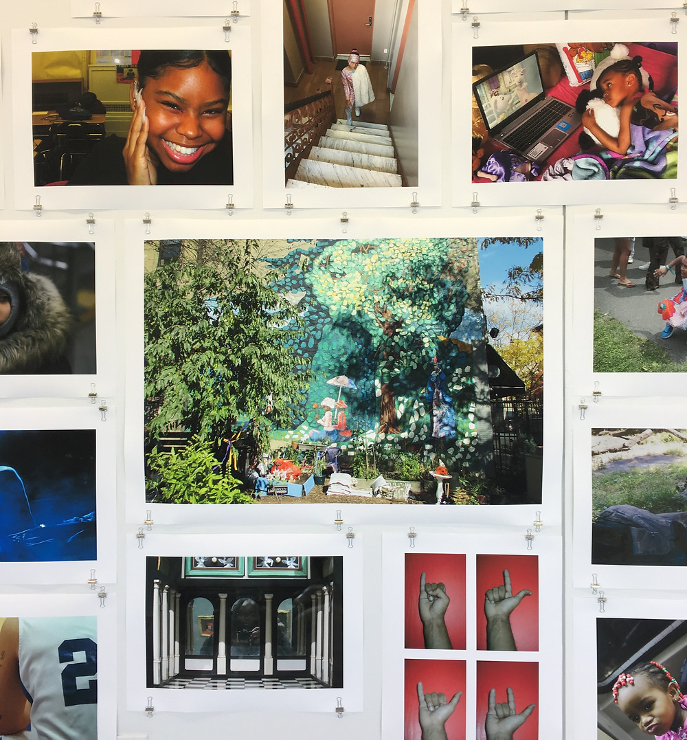 The NeON Photo exhibit at Hunter East Harlem Gallery