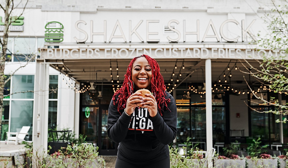 Pinky Cole of Slutty Vegan is teaming up with Shake Shack on a limited edition vegan burger