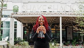 Pinky Cole of Atlanta's massively popular Slutty Vegan is teaming up with Harlem's Shake Shack