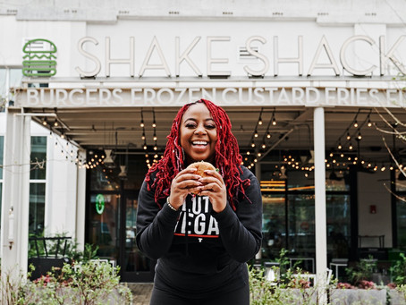 Pinky Cole of Atlanta's enormously popular Slutty Vegan is teaming up with Harlem's Shake Shack