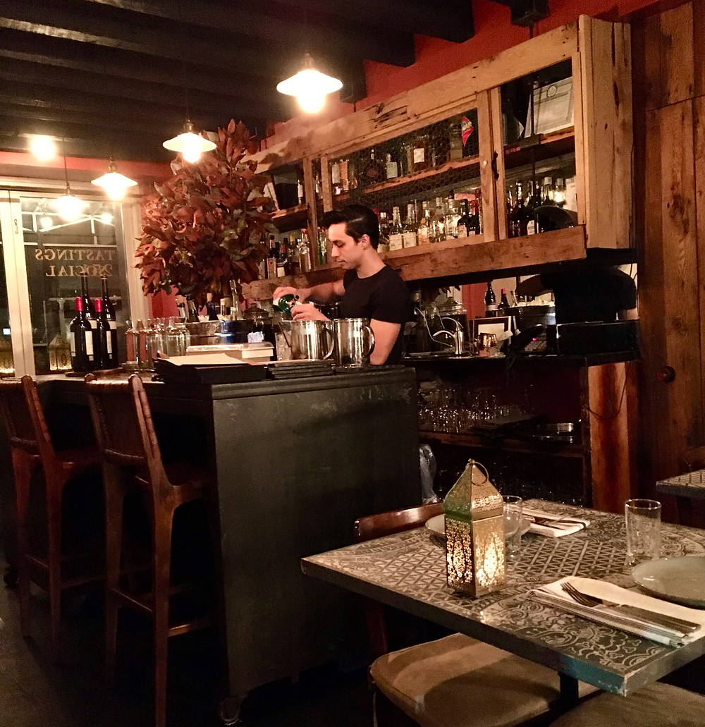 Gaudir is an intimate tapas spot in East Harlem
