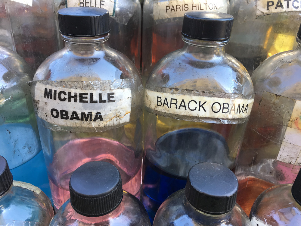 Scented oils on 125th Street in Harlem