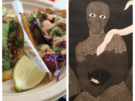 Uptown double date: La Chula taqueria + El Museo del Barrio (closing until next summer!)