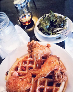 Melba's chicken and waffles by Matthew Guss