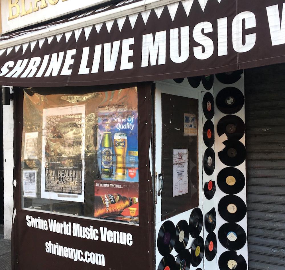 Shrine, Harlem's top spot for live music, is open again