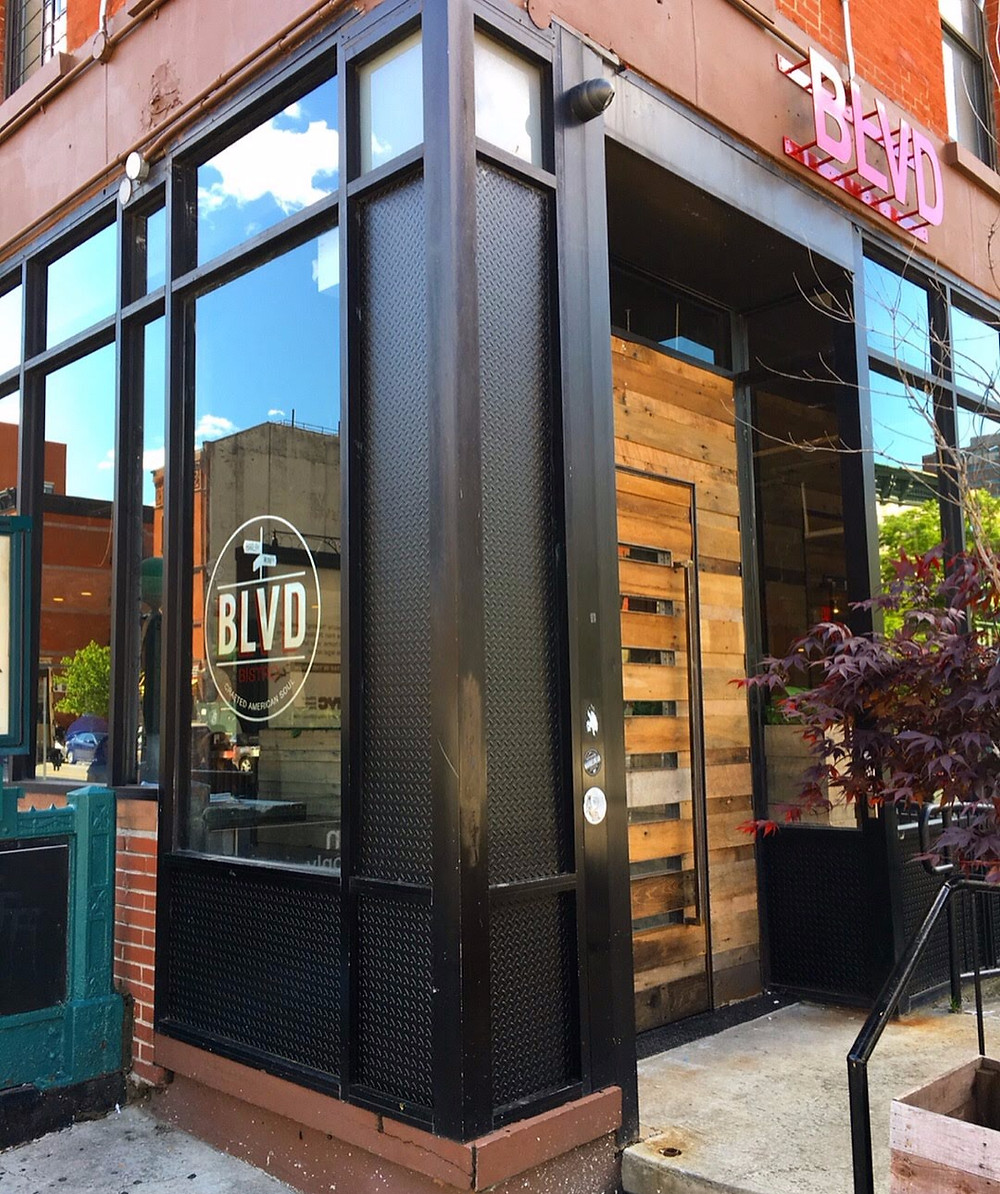 Modern soul food spot BLVD Bistro moved to 2149 Frederick Douglass Blvd in Harlem