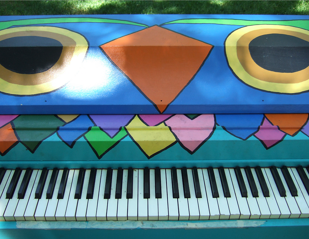 Sing for Hope Piano at Jacob Schiff Playground