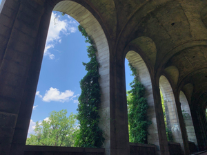 The Billings Arcade in Fort Tryon Park