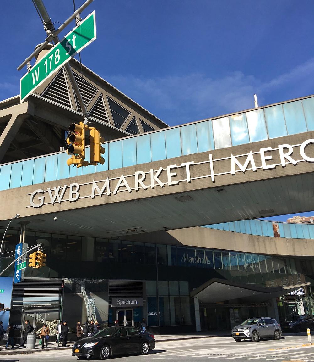 The George Washington Bridge Bus Station Market