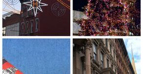 Harlem holiday weekend: neighborhood tree lighting, festive windows, and local markets