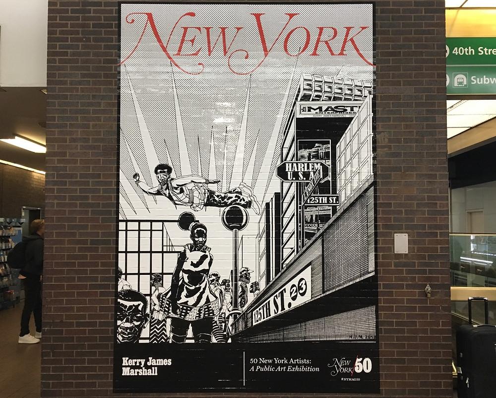 Kerry James Marshall depicts Harlem for New York Magazine
