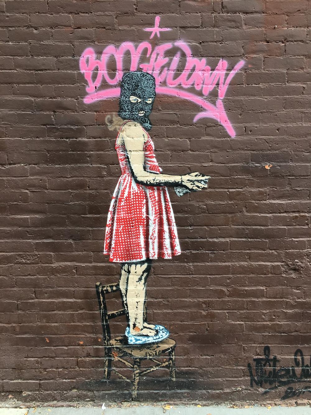Graffiti in the South Bronx