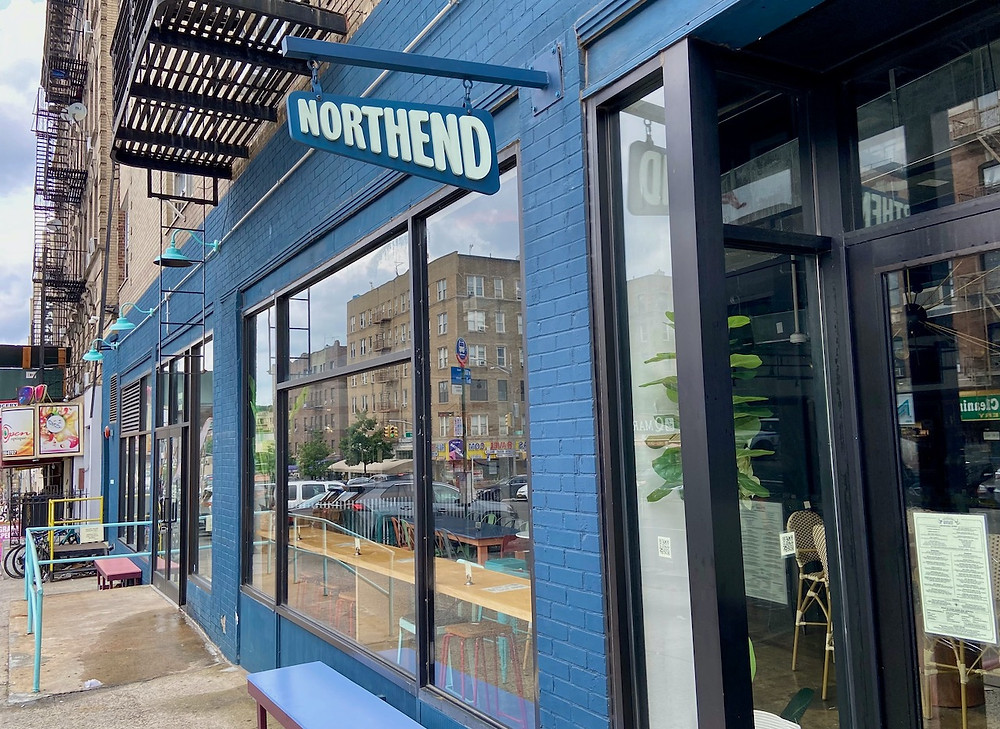 Harlem Public is the first restaurant to open in Northend Food Hall in Washington Heights.