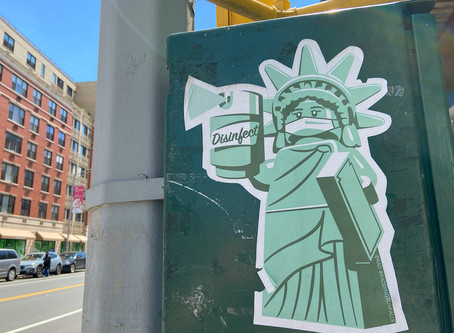 The best pandemic-themed street art in Harlem and Washington Heights
