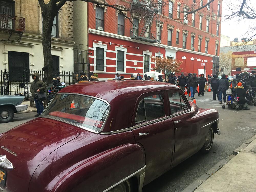 The Motherless Brooklyn set in Hamilton Heights