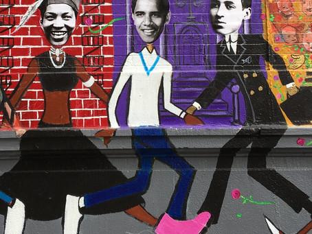 Barack Obama, (adopted) son of Harlem