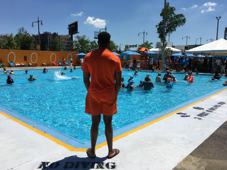 Harlem just got its second Cool Pool