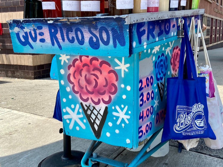 The most charming shaved ice cart in town is back with a fresh new look