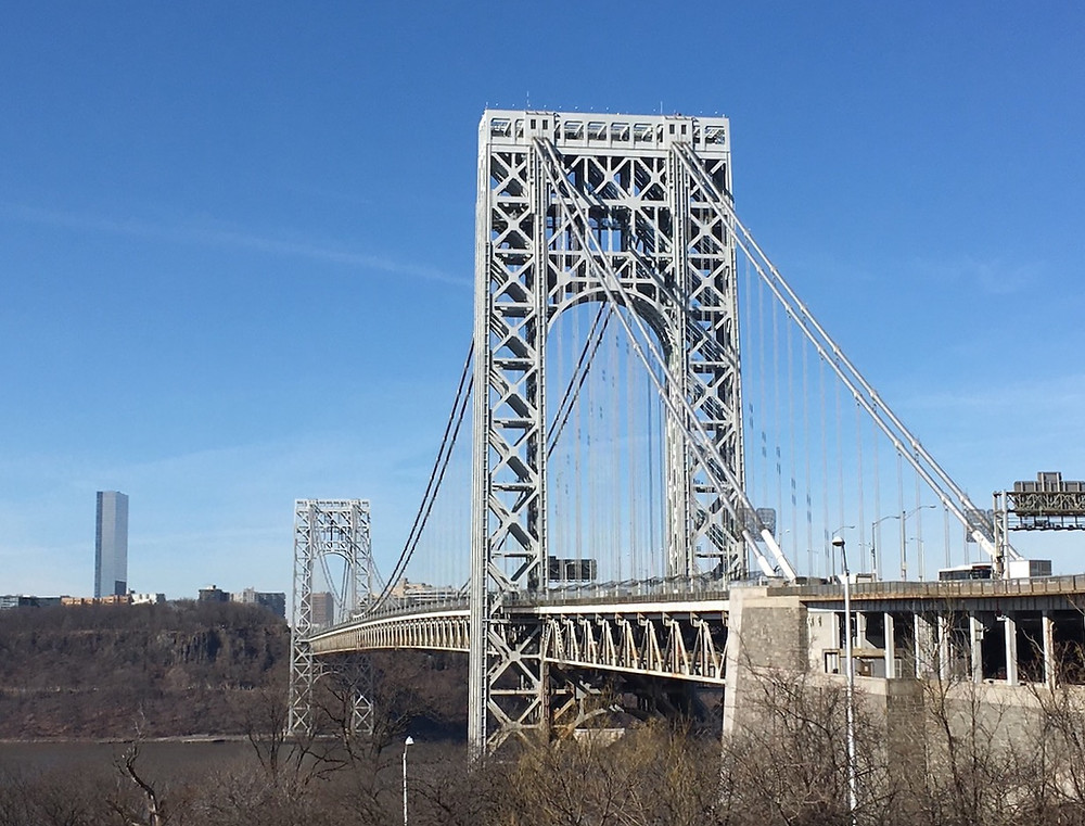 Walking or biking the George Washington Bridge