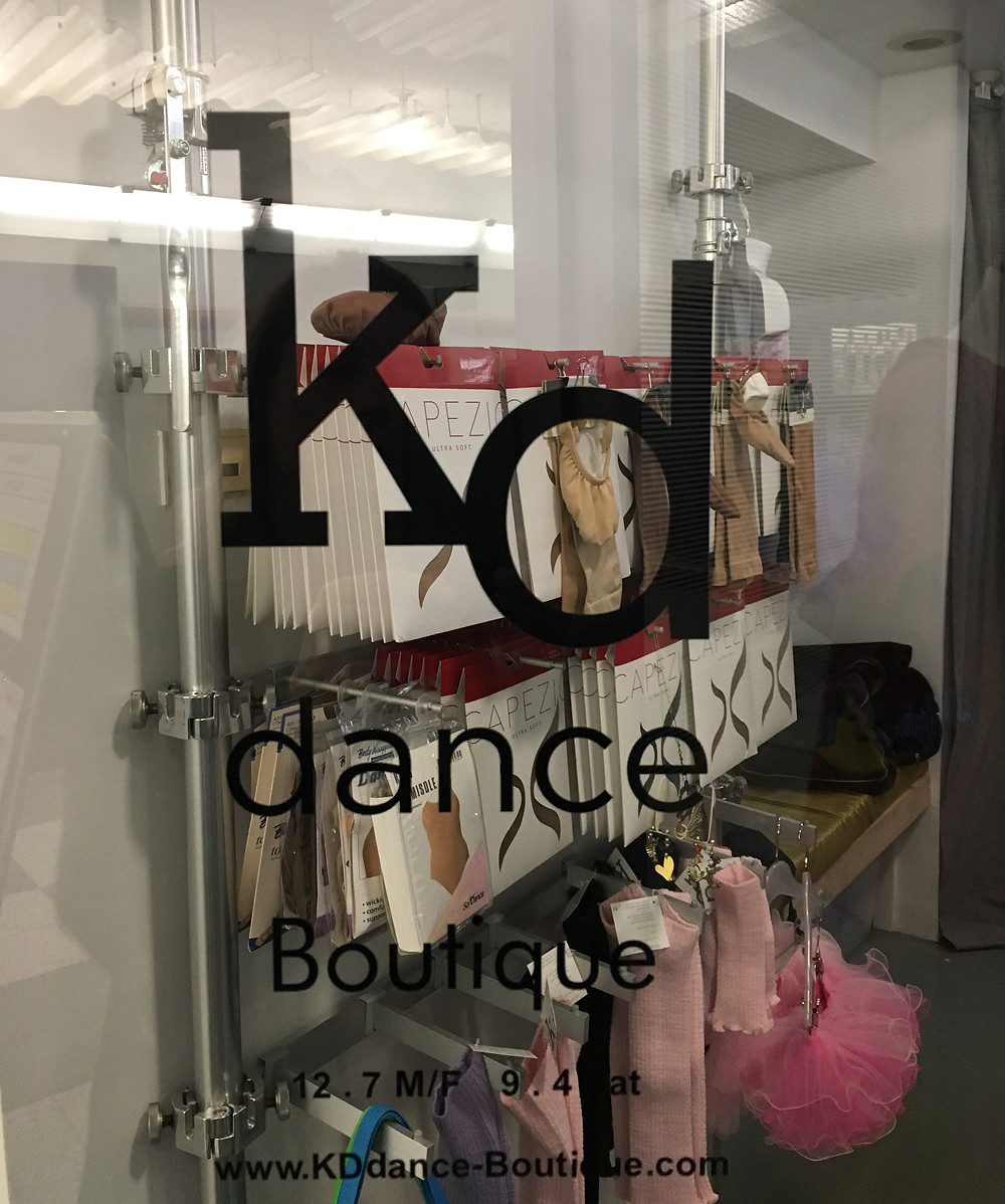 Downtown dancewear boutique KD New York just moved uptown