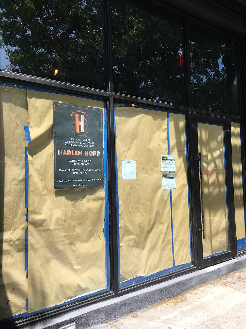 Harlem Hops on Adam Clayton Powell Jr Boulevard