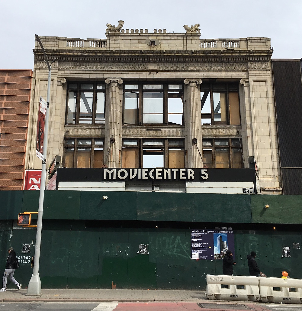 The facade of the historic Victoria Theater will front a new Marriott Renaissance on 125th Street in Harlem