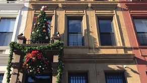 Where to find uptown cheer: a celebrity's house, Lenox Avenue's holiday tree row, and more