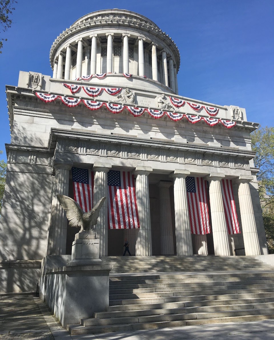 Grant's Tomb is the setting for live jazz every Wednesdays during the summer