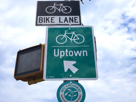 Uptown links: two new bike lanes are coming to Harlem and Washington Heights this year, and more