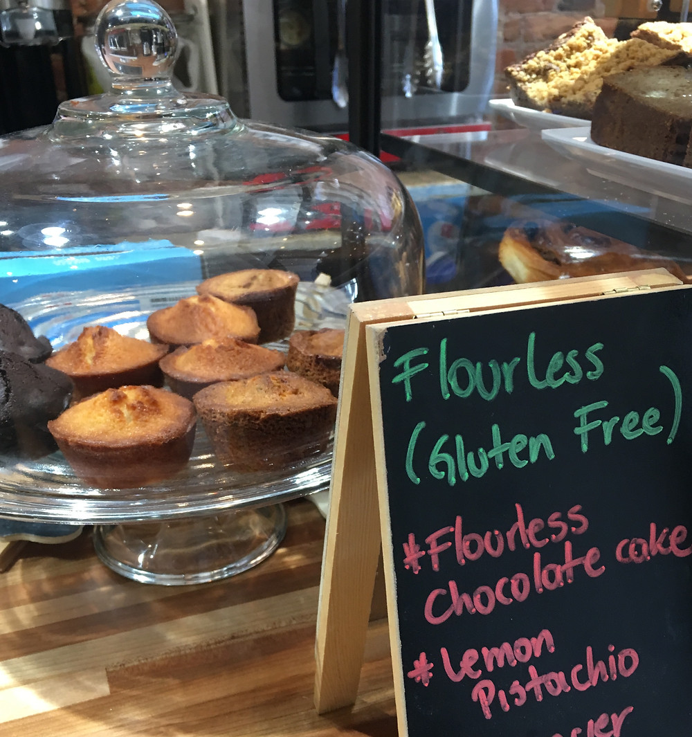 Pabade Bakery also offers gluten-free financiers