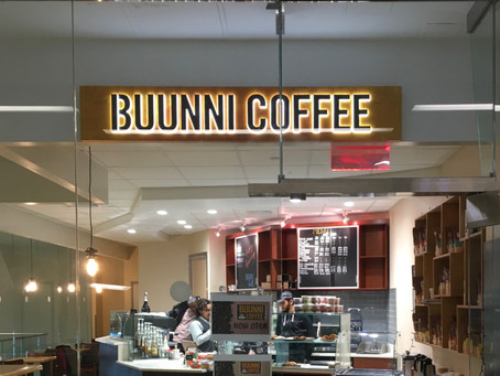 Two new locations of Buunni Coffee–and more–debut at George Washington Bridge Bus Station Market