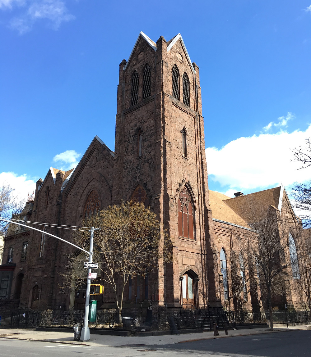 Metropolitan Community United Methodist Church on East 126th Street