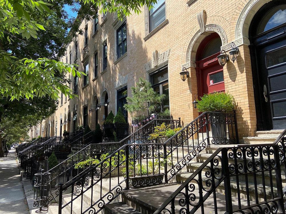 The most beautiful streets in Harlem and beyond