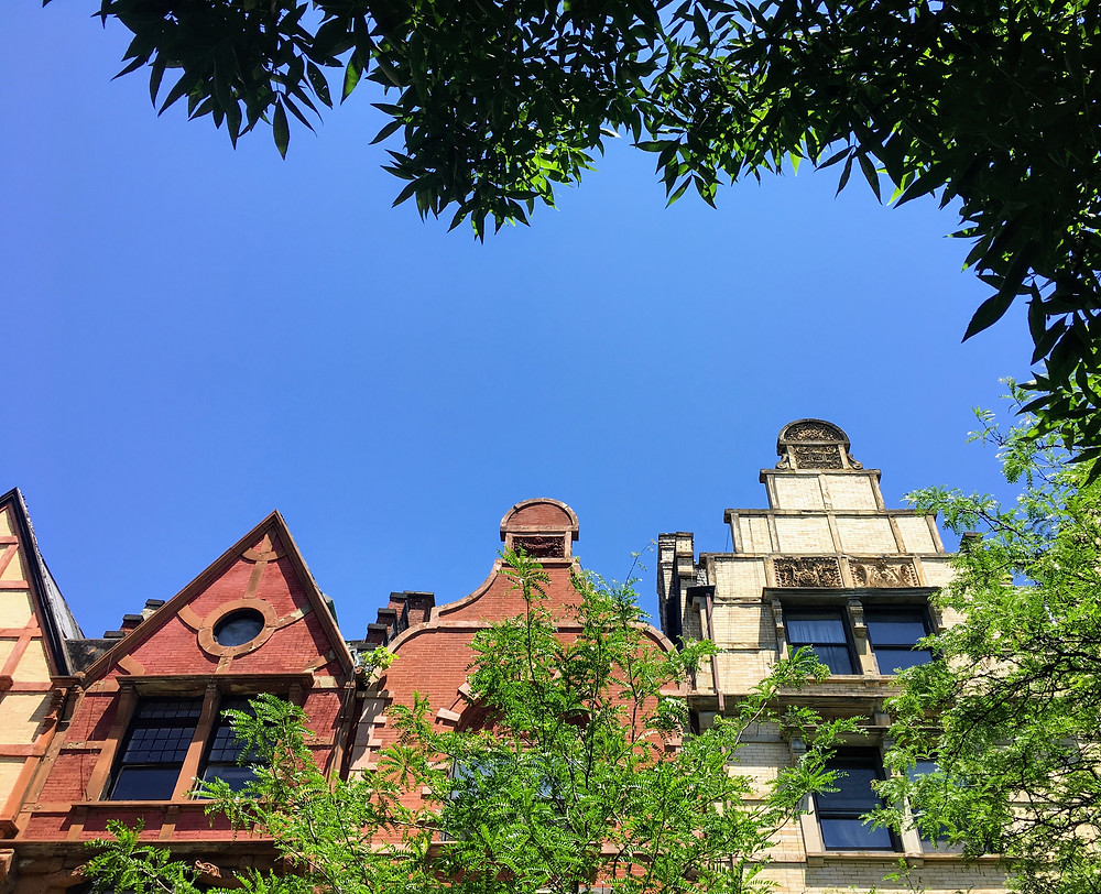 The gables of Harlem's Hamilton Heights