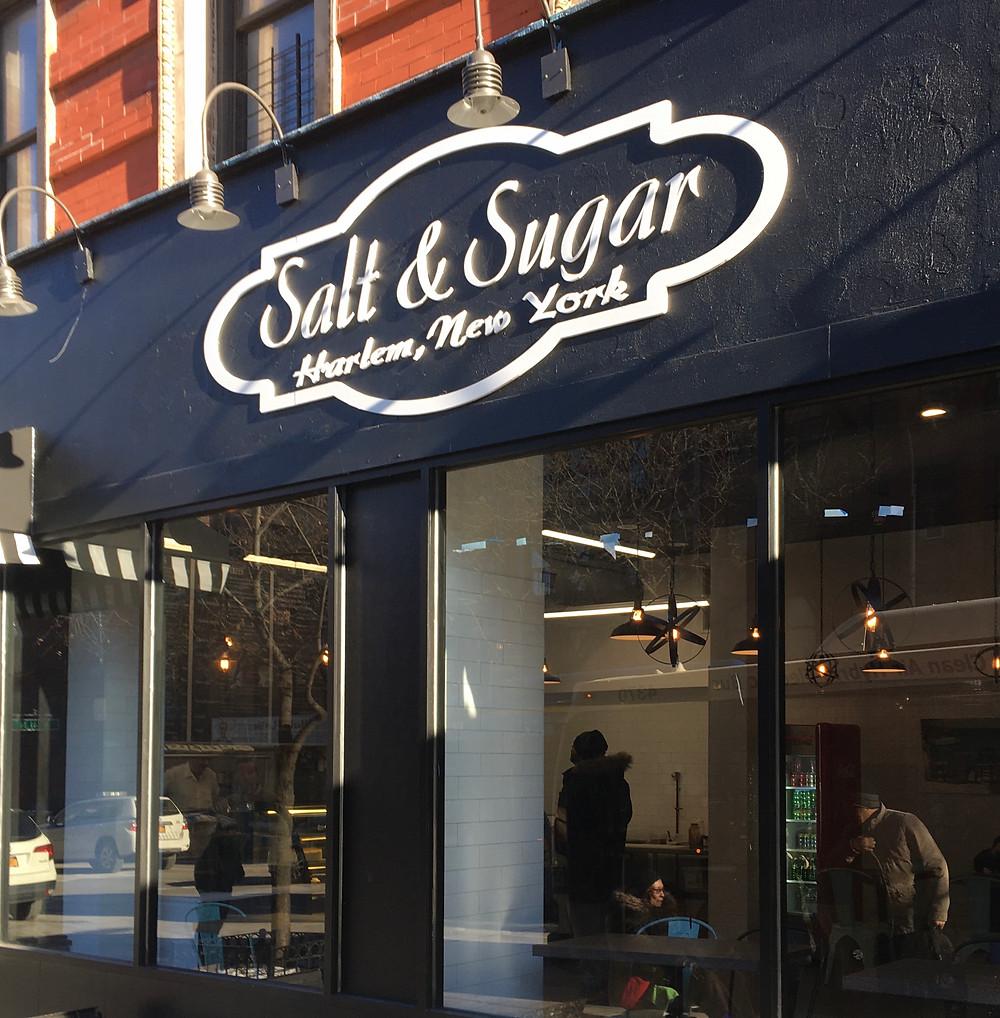 Salt & Sugar has replaced Whaddapita at 1625 Amsterdam in Harlem