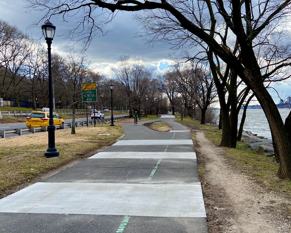 Cherry Walk is back open after renovations (and the tree roots are gone!)