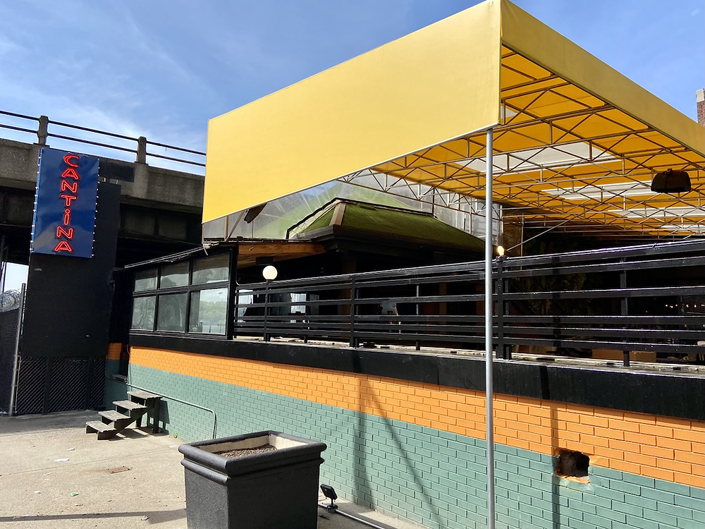 Skinny's Cantina on the Hudson is opening in a former beer garden in West Harlem.