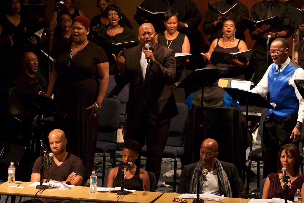 """""""Antigone in Ferguson"""" performed in Ferguson, MO, September 2016"""